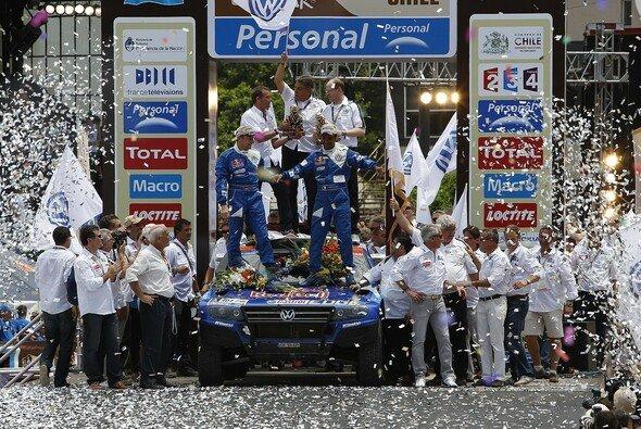 Die Volkswagen-Truppe hat allen Grund zum Feiern