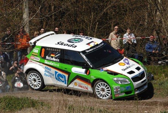 Mark Wallenwein startet bei der Rallye Monte Carlo