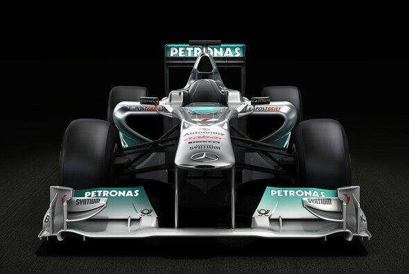 So sieht der neue Silberpfeil aus - Foto: Mercedes GP