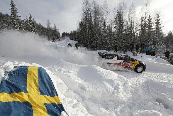 Sebastien Loeb gibt die schwedische Hoffnung auf