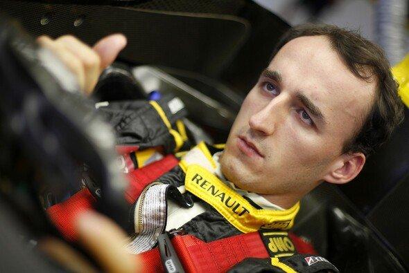 Kubica arbeitet hart, um wieder in die F1 zurückzukehren