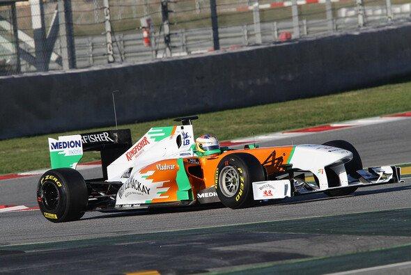 Das Auto von Paul di Resta wird dank der zusätzlichen zwei Wochen besser vorbereitet - Foto: Pirelli