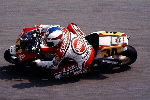 Kevin Schwantz gewann mehr Rennen als jeder andere Suzuki-Fahrer