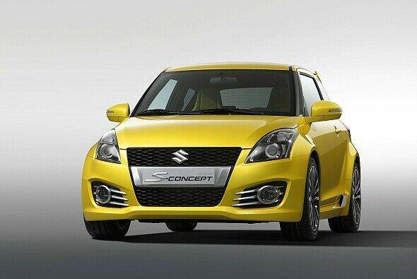 Knallgelber Flitzer: Suzuki Swift S-Concept