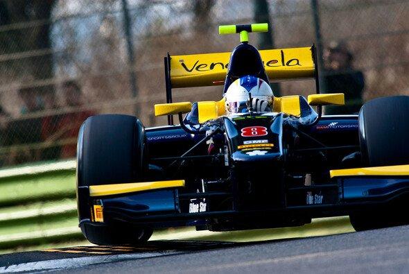 Cecotto wechselt die Farben: Bald startet er in blau - Foto: GP2 Asia Series