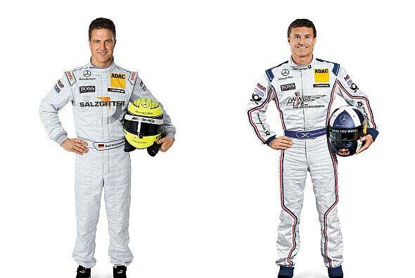 Coulthard & Schumacher bleiben DTM erhalten - Foto: Mercedes-Benz