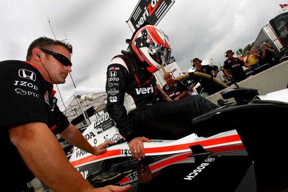 Will Power gab sich im Barber Motorsports Park erstmals seit seiner Verletzung beim Saisonfinale die Ehre im neuen Auto