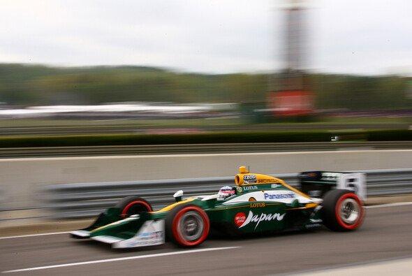 Takuma Sato schnappte sich in Iowa seine allererste Indy-Car-Pole - Foto: IndyCar