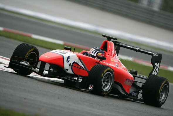 Lewis Williamson kam gut zurecht - Foto: GP3 Series