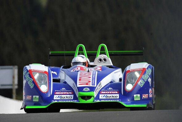 Die Pescarolo-Eigenkreation Pescarolo 01 (Judd) beim Le-Mans-Series-Rennen 2007 in Spa