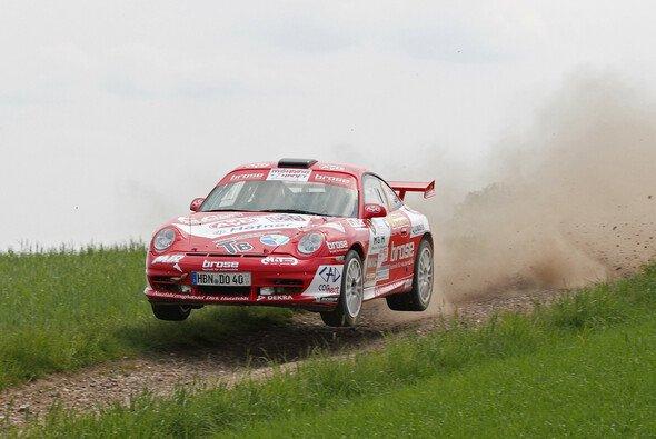 Uwe Dobberkau im Porsche 911