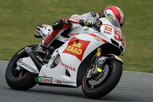 Marco Simoncelli holte seine erste MotoGP-Pole - Foto: Milagro