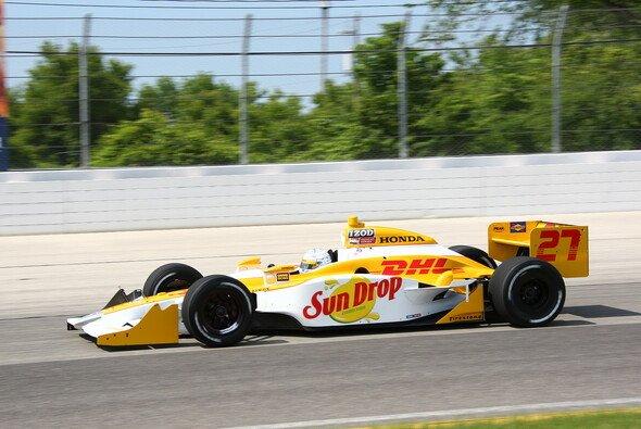 Zuletzt war Mike Conway für Andretti Autosport unterwegs - nun testet James Davison in seinem Auto