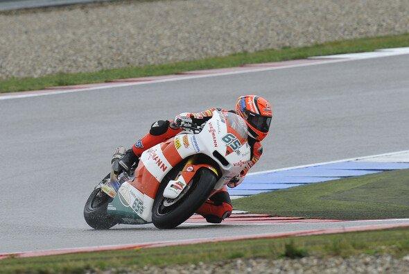 Stefan Bradl ist nicht zu stoppen: Zum sechsten Mal im siebten Rennen startet der Zahlinger von der Pole Position