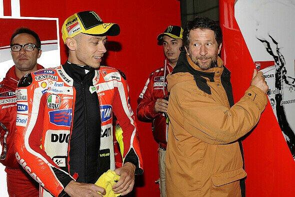 Graziano Rossi ist sehr froh, dass sein Sohn wieder für Yamaha fährt