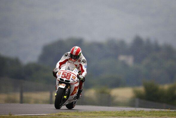 Die erste Bestzeit auf dem Sachsenring ging an Marco Simoncelli - Foto: Honda