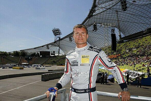 David Coulthard ist heiß auf den Auftritt im Olympiastadion - Foto: DTM