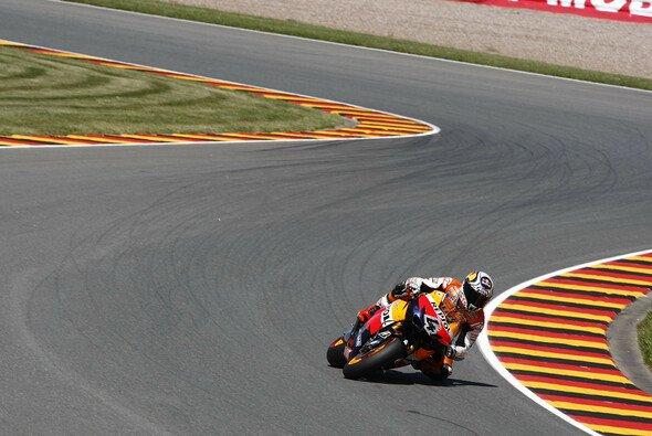 Andrea Dovizioso wollte eigentlich auf das Podest - Foto: Honda