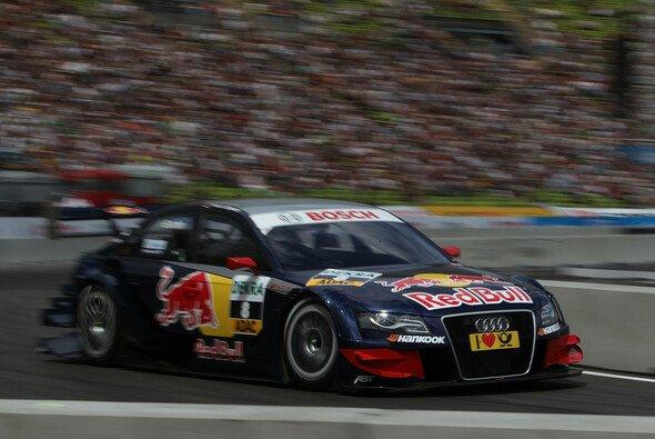 Mattias Ekström schied 2011 aufgrund einer Zeitstrafe wegen Frühstarts aus - Foto: Audi