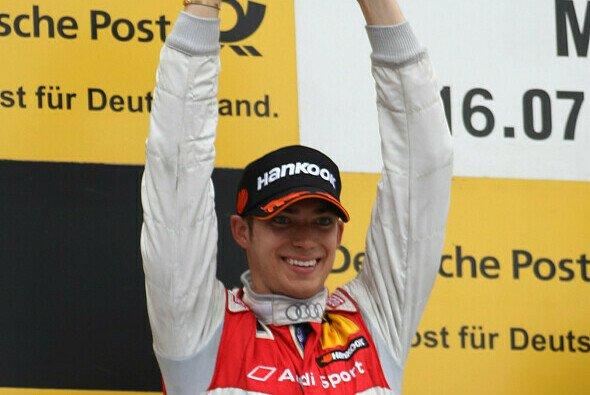 2011 war Edoardo Mortara der strahlende Sieger im Münchener Olympiastadion - Foto: Audi