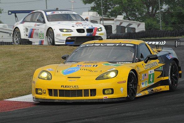 Die Corvette-Fahrer sollen 2012 BMW bezwingen - Foto: ALMS