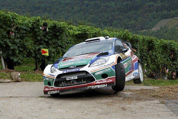 2011 endete die Rallye Deutschland für Jari-Matti Latvala außerhalb der Punkte