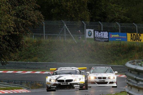 Der BMW Z4 GT3 kennt sich auf der Nordschleife bestens aus