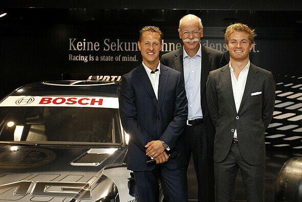 Dieter Zetsche glaubt an die Zukunft der DTM