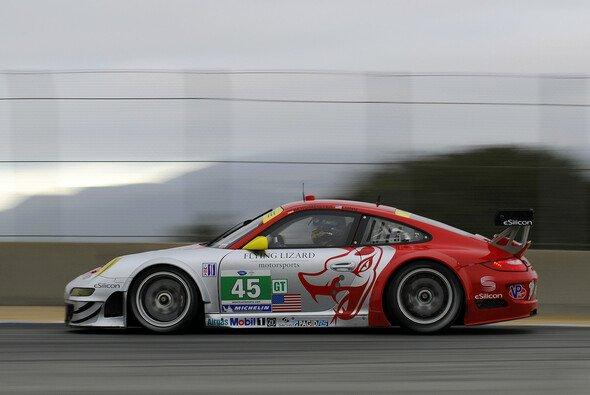 Jörg Bergmeister fuhr zum fünften Startplatz in Road Atlanta - Foto: Dr. Ing. h.c.F. Porsche AG