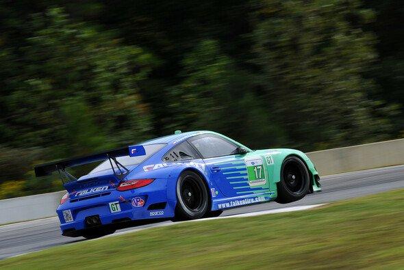 In Mosport vorne dabei: der Falken-Porsche