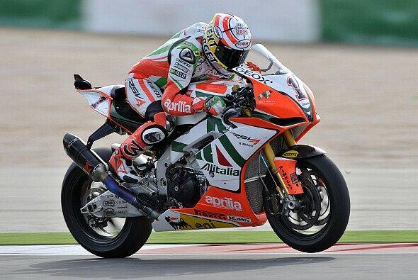 Für Max Biaggi soll es 2012 wieder an die Spitze gehen