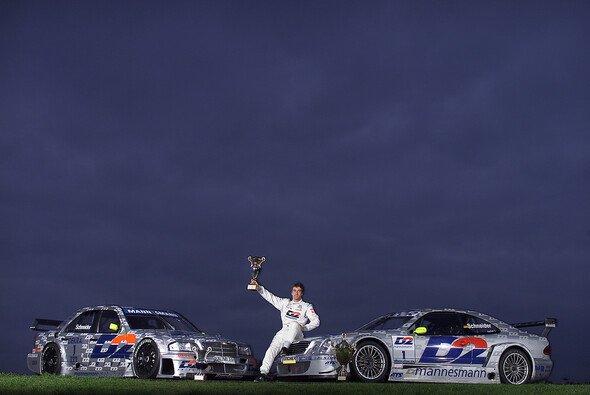 Bis heute Mister DTM: Der fünfmalige Champion Bernd Schneider - Foto: Mercedes-Benz