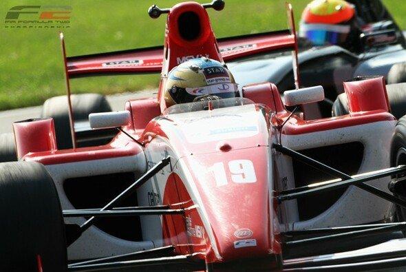 Christopher Zanella sicherte sich zum Abschluss der Barcelona-Testfahrten die letzte Bestzeit des Jahres 2011 - Foto: Formula Two