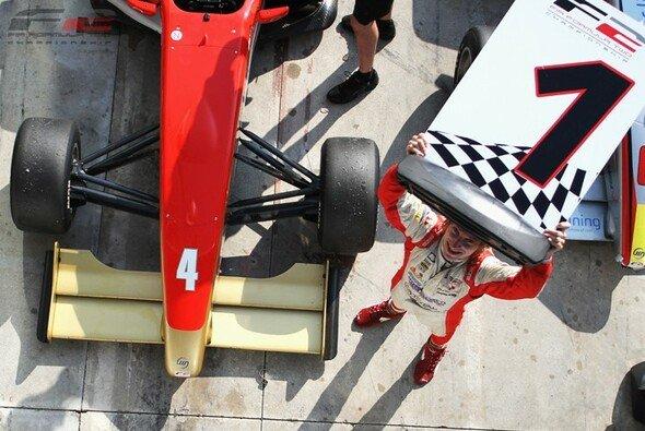 Die 1 bleibt ihm treu - auch in Barcelona konnte sich Mirko Bortolotti den ersten Startplatz sichern