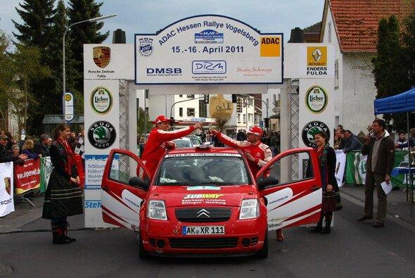 Lars Mysliwietz und sein Beifahrer Oliver Schumacher sind auch 2011 Meister im Saarland