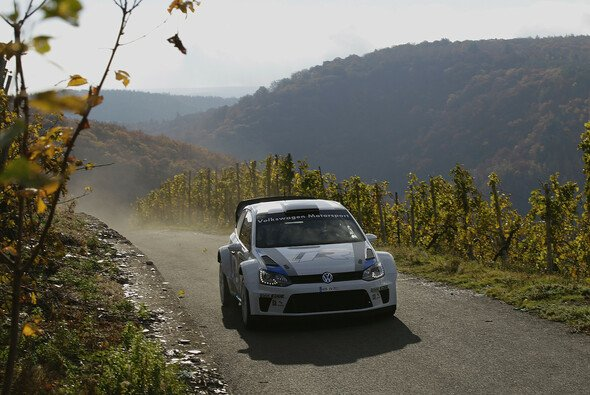 Volkswagen absolvierte einen Großtest mit dem Polo R WRC