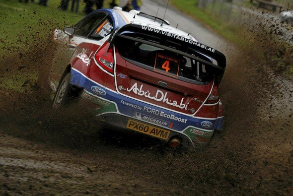 Jari-Matti Latvala will in Wales seinen ersten Sieg 2011 feiern - Foto: Ford