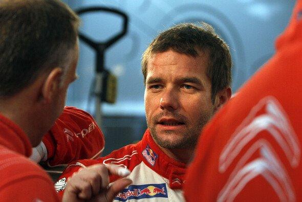 Sebastien Loeb freute sich zwar, konnte den achten Titel aber noch nicht richtig fassen