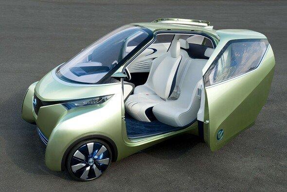 Pendler- und Stadtmobil der näheren Zukunft: Nissan PIVO3 - Foto: Nissan