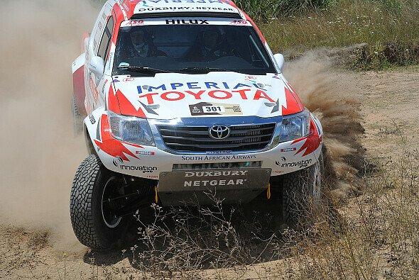 Klein aber oho - Imperial Toyota präsentiert sich stark bei der Dakar