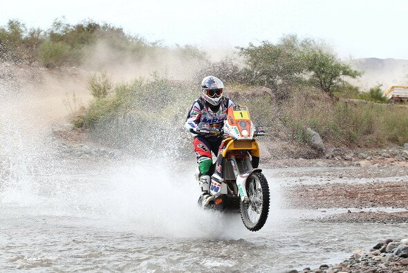 Marc Coma konnte mit der 7. Etappe wieder näher an Cyril Despres heran rücken
