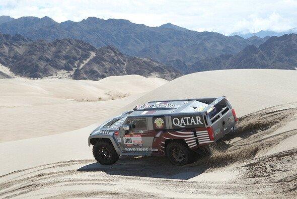 Nasser Al-Attiyah und Robby Gordon sicherten Hummer einen Doppelerfolg