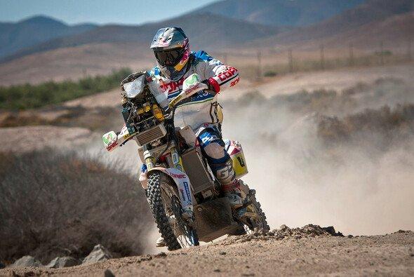 Francisco Lopez Contardo war auf der ersten Prüfung der Schnellste