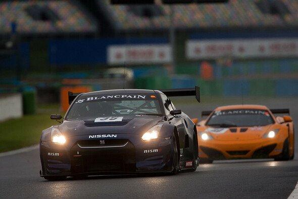 Der Nissan GT-R Nismo GT3 bei der Blancpain Endurance Series in Magny-Cours 2012