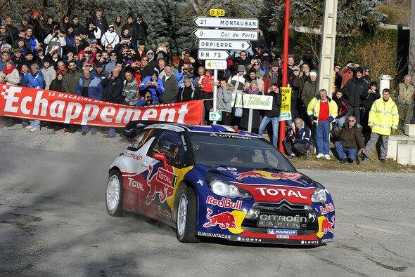 Sebastien Loeb sicherte sich den Sieg in Monte Carlo