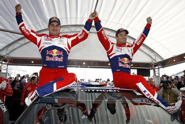 Sebastien Loeb jubelte über seinen sechsten Sieg im Fürstentum