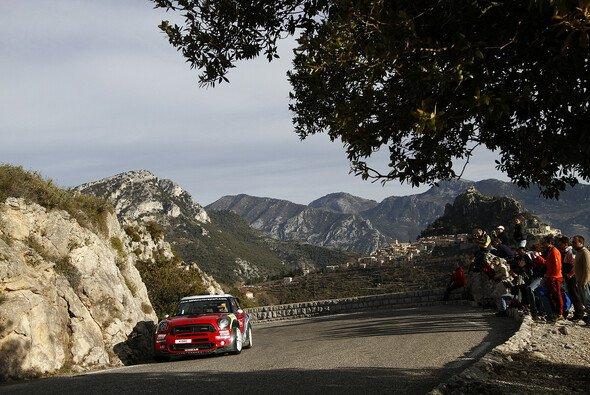 Dani Sordo sicherte sich in Monte Carlo den dritten Podestplatz mit Mini auf Asphalt