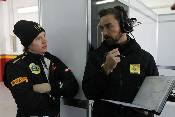 Kimi Räikkönen fühlt sich bei Lotus bereits heimisch - Foto: Lotus F1 Team