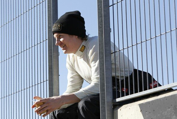 Kimi Räikkönen freut sich auf sein Comeback auf der F1-Rennstrecke - Foto: Lotus F1 Team