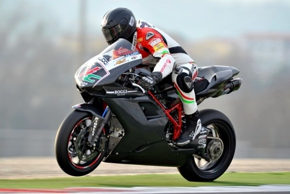 Niccolo Canepa testete in Vallelunga - Foto: Red Devil Team